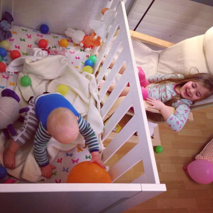Ze hadden zoveel lol, het was heerlijk wakker worden!