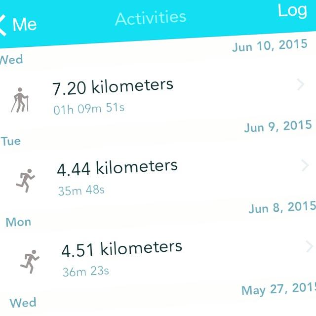 Na twee dagen hardlopen (ik ga nog niet zo hard eigenlijk), ging ik woensdagavond Nordic Walken. Met die stokken ja!  Ik vond het heerlijk!