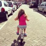 Project fietsen zonder zijwieltjes