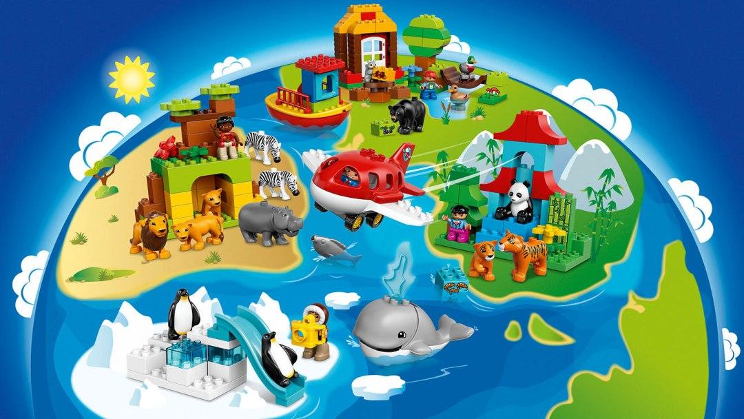de wereld rond met lego duplo #giveduplo