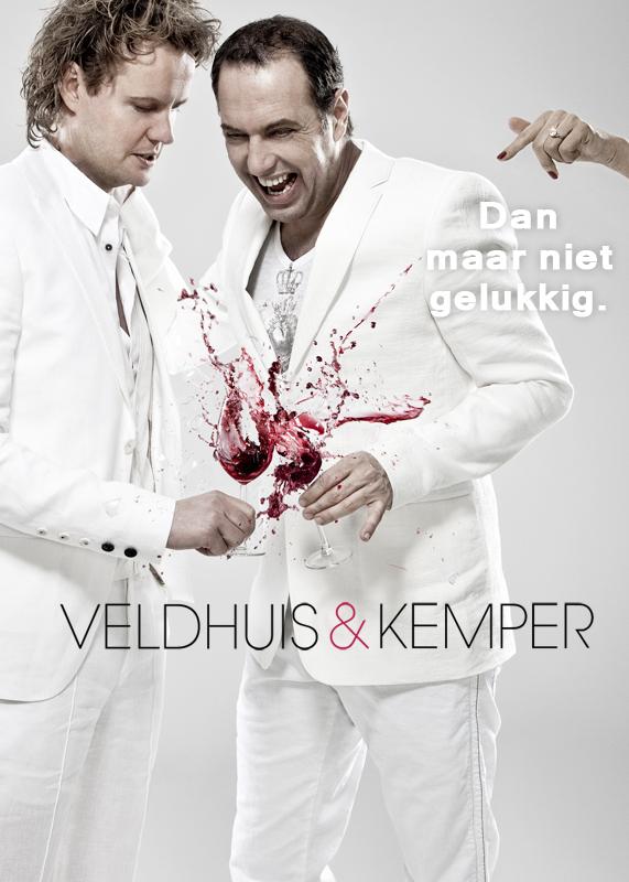 Veldhuis en Kemper - Dan Maar Niet Gelukkig_ NL_571x800