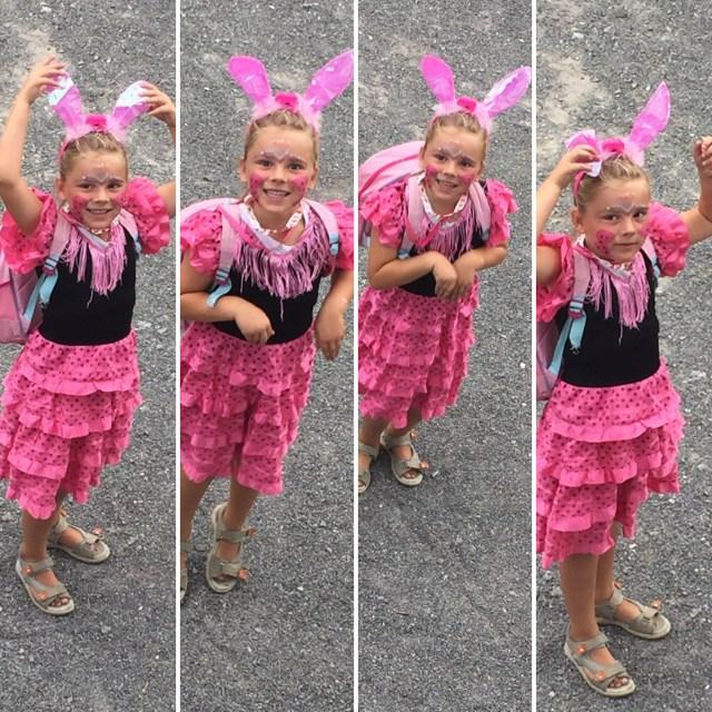 Eva hopt zaterdag van het ene kinderfeestje naar het andere kinderfeestje en komt helemaal uitgelaten thuis