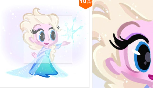 frozen-muursticker