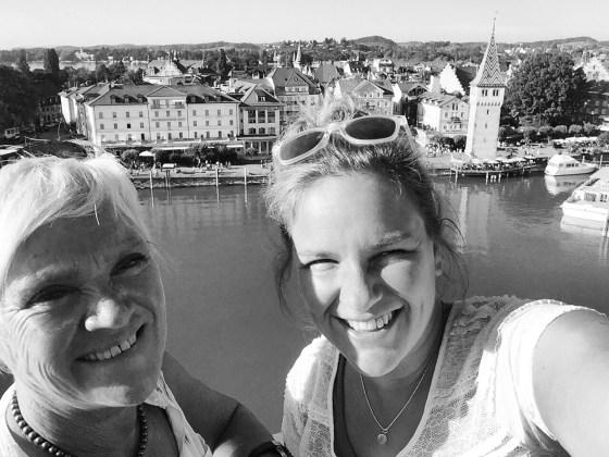 Mama en ik besluiten naar Lindau te gaan. En genieten daar heerlijk met zijn tweetjes
