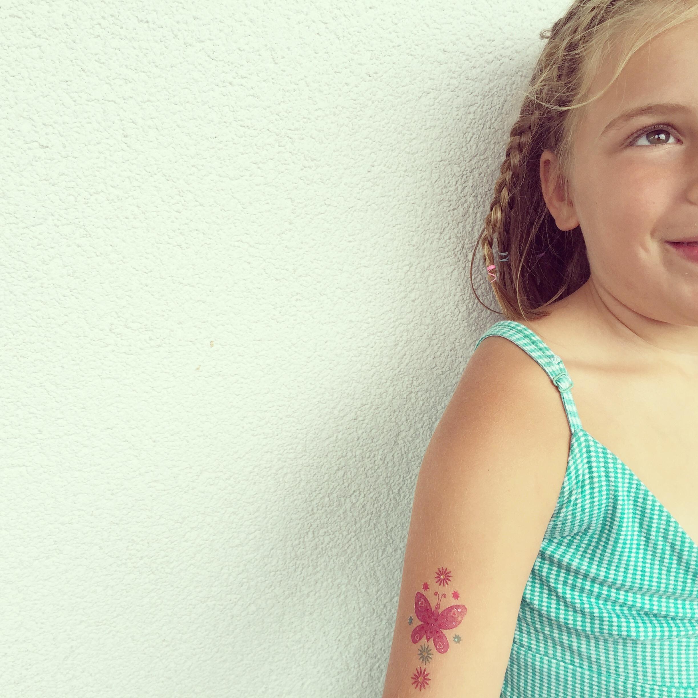 Haar tattoo...