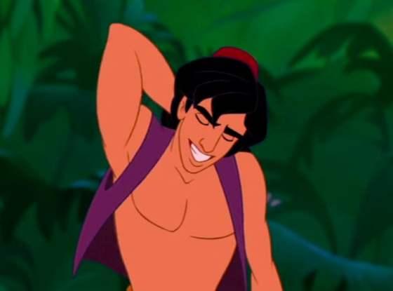 Waar zijn de tepels van Aladdin?