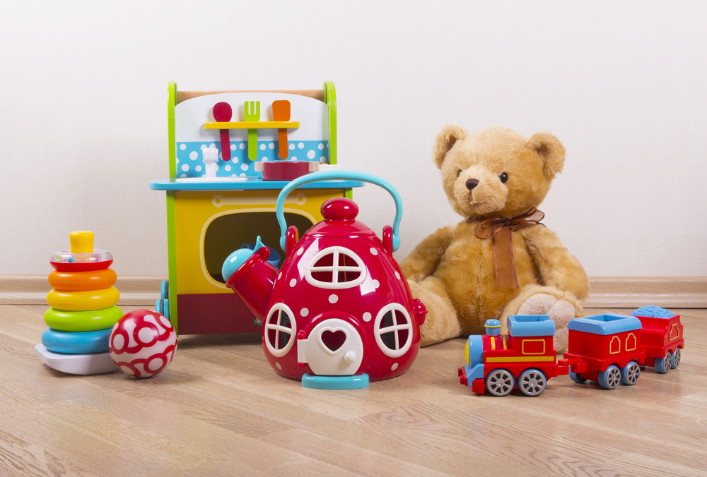 Maak speelgoed schoon! beeld: speelgoed via Shutterstock