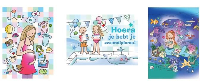 De stijl van Wendy de Boer is er eentje die je onthoudt. Deze kaarten komen uit de nieuwste collectie!