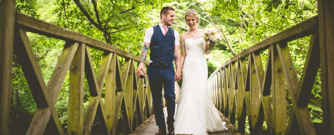 Wedding of Ellie & Dale at Chiddingstone Castle in Kent
