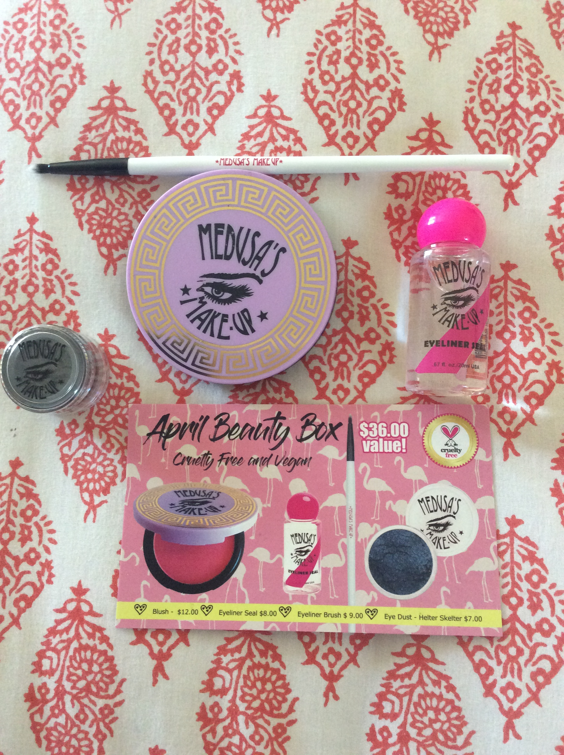 Medusa Makeup Subscription Beauty Box (April 2017)