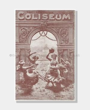 1916 VARIETY with SARAH BERNHARDT London Coliseum