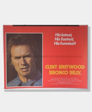 1980 BRONCO BILLY Clint Eastwood