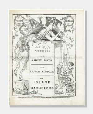 1874 Gaiety Theatre Island of Bachelors
