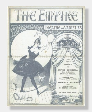 1891 EMPIRE Orfeo and Variety