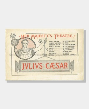 1900 JULIUS CAESAR Her Majesty's Theatre
