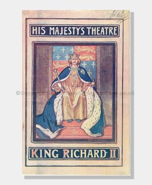 1903 KING RICHARD II His Majesty's Theatre