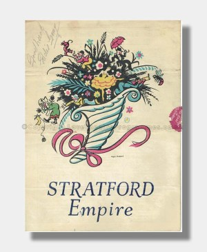1940 ROLL OUT THE BARREL Stratford Empire Signed Eddie Gray
