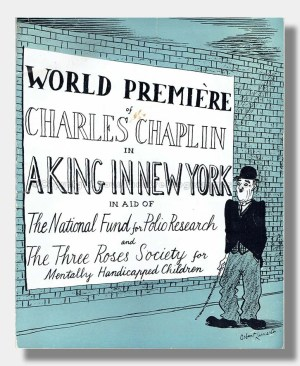 1957 A KING IN NEW YORK Charlie Chaplin