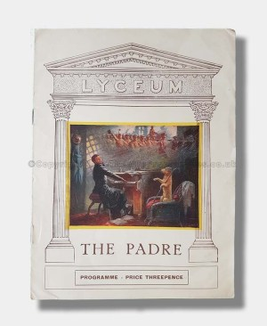 1926 LYCEUM THEATRE The Padre