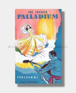 1948 LONDON PALLADIUM Mickey Rooney and Variety