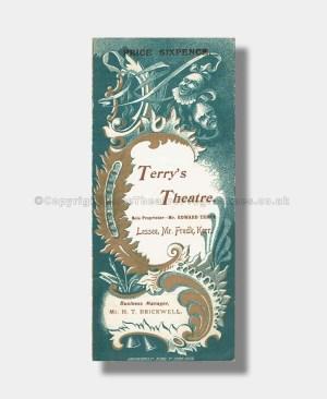 1896 JEDBURY JNR Terry's Theatre