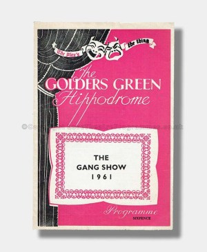 1961 THE GANG SHOW Golders Green
