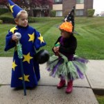 Big Daddy Wizard and Baby Witch, Halloween 2013