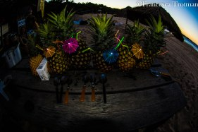 Pineapple rum time!
