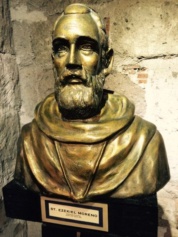 bust of saint ezekial moreno