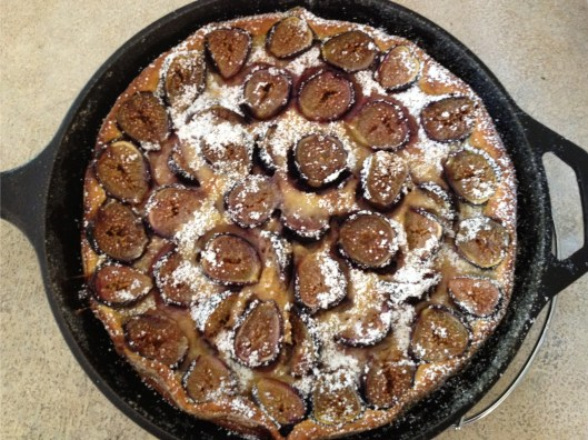 Food and Wine black mission fig clafoutis