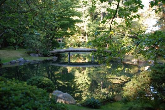 Nitobe Japanese Garden in Vancouver.