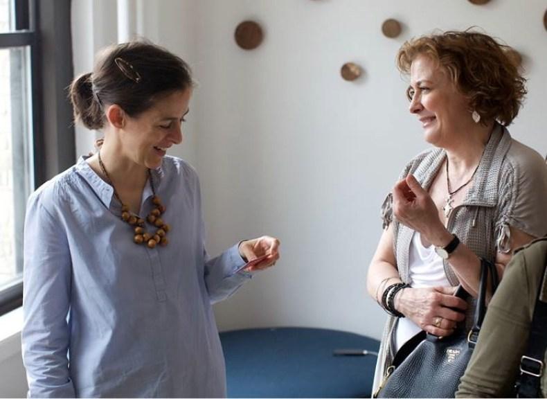Amanda Hesser and Mary Frances of LOVE-the secret ingredient.net.