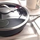 Calphalon non stick dishwasher safe skillet.