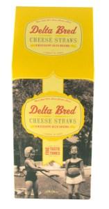 Delta Bred Cheese Straws.