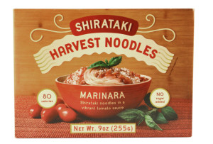 Harvest Noodles Shirataki Marinara.