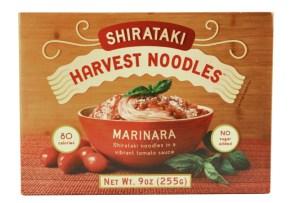 Harvest Noodles Shirataki Marinara.