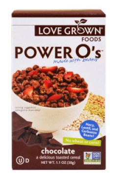 Power O's chocolate cereal.