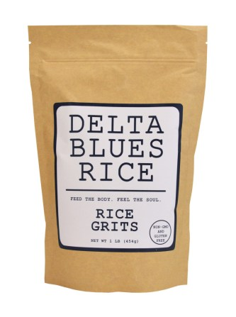 Delta Blues Rice Rice Grits package.