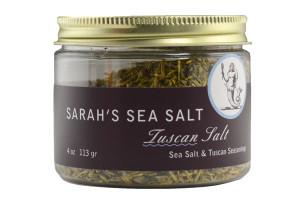 Coastal Goods Sarah's Sea Salt Tuscan Salt.