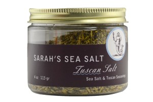 Coastal Goods Sarah's Sea Salt Tuscan Salt.