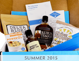 MARY's secret ingredients 2015 summer box.