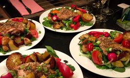 Frosty cocktails and dinner salads – summertime is here!