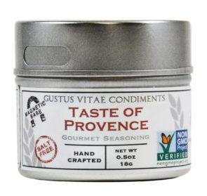 Gustus Vitae Taste of Provence Gourmet Seasoning.