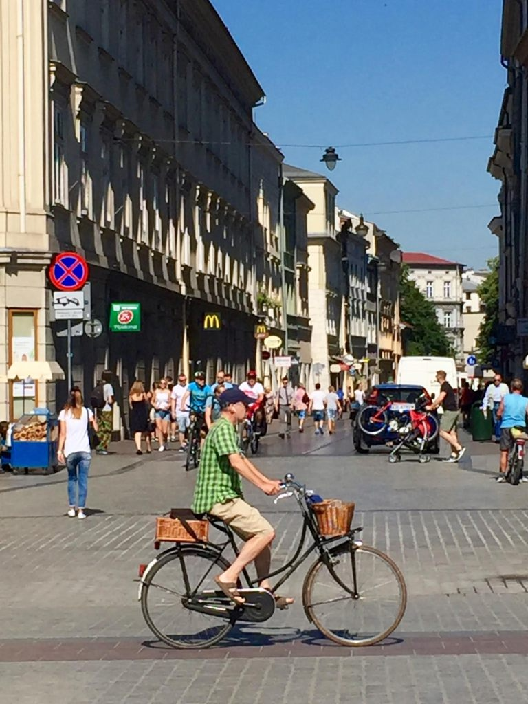 The people in Krakow!