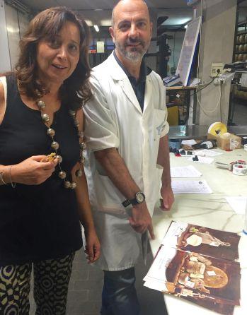 Tiziana Bonechi and Giancarlo Canti.
