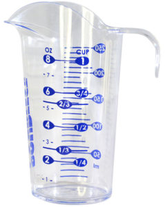 POURfect measuring cup.