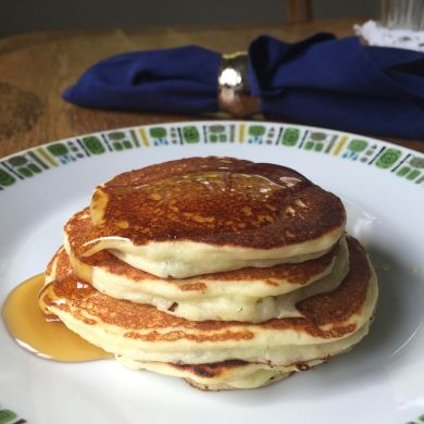 PS Seasonings Spices Pancakes on a plate.