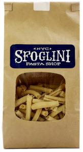 Sfoglini pasta in a bag.