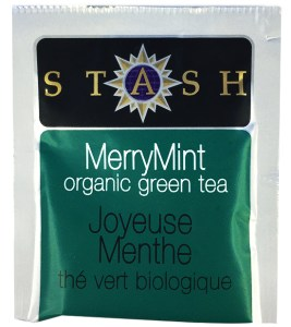 Stash Merry Mint Organic Green tea.