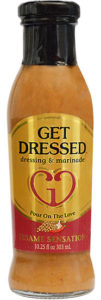 Get Dressed Sesame Sensation Salad Dressing.